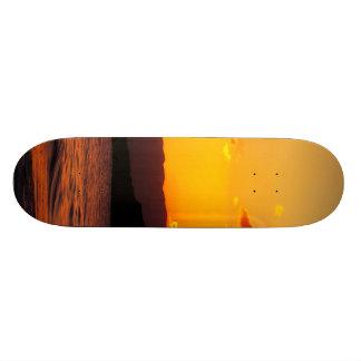 Sunrise Custom Skateboard