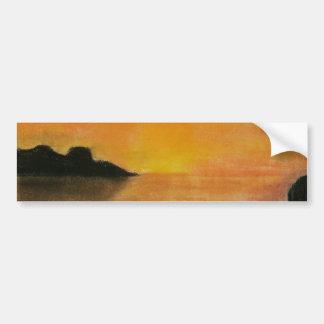 Sunrise Sketch Bumper Sticker