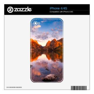 Sunrise iPhone 4 Decal