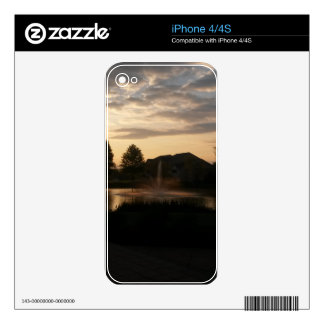 Sunrise Decals For iPhone 4