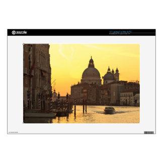 "Sunrise sky colors near San Maria Del Giglio Skins For 15"" Laptops"