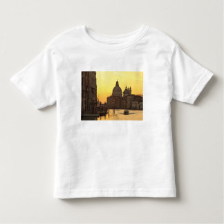 Sunrise sky colors near San Maria Del Giglio Toddler T-shirt