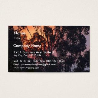 Sunrise Smokey Hazy Business Card