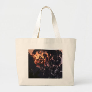 Sunrise Smokey Hazy Jumbo Tote Bag