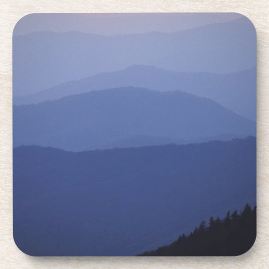 Sunrise, Southern Appalachian Mountains, Great Drink Coaster