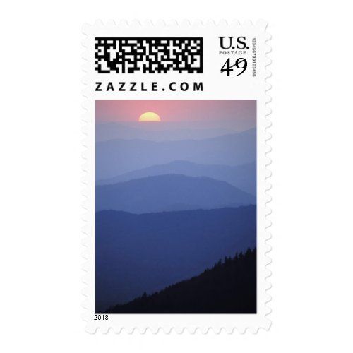 Sunrise, Southern Appalachian Mountains, Great Postage