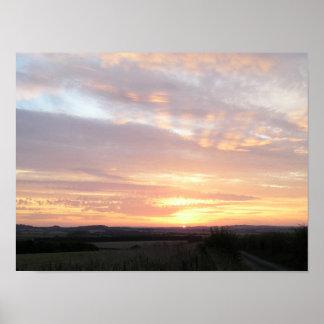 Sunrise Spectacular Poster