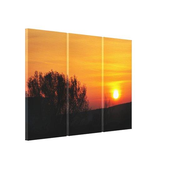 Sunrise -  Stretched Canvas Print