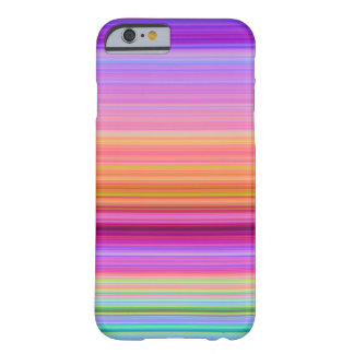 Sunrise Stripes Barely There iPhone 6 Case