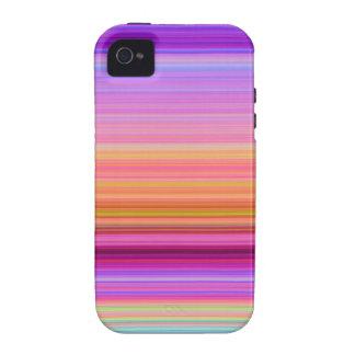 Sunrise Stripes iPhone 4 Cases