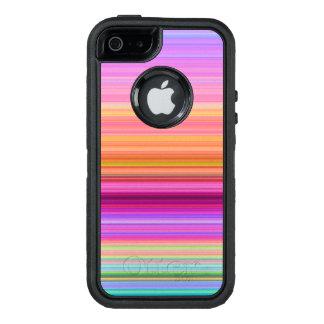 Sunrise stripes OtterBox iPhone 5/5s/SE case