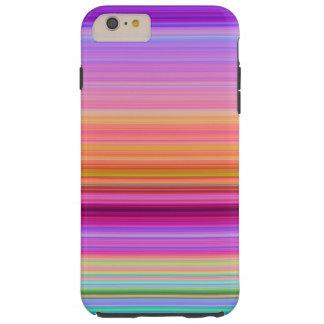 Sunrise Stripes Tough iPhone 6 Plus Case