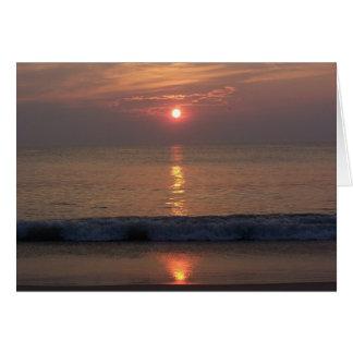 Sunrise, Sunrise Card