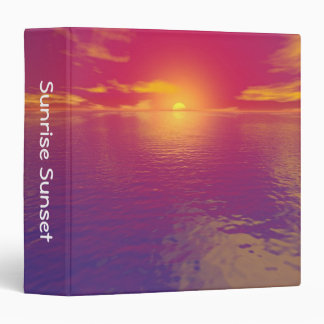 Sunrise Sunset (1.5in) 3 Ring Binder
