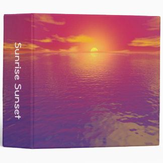 Sunrise Sunset (1in) Binder