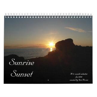 Sunrise/Sunset 2008 Calendar