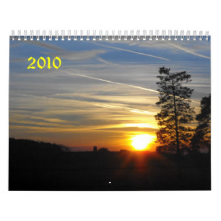 Sunrise, Sunset, 2010 Wall Calendars