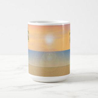 Sunrise / Sunset Beach Scene: Mug