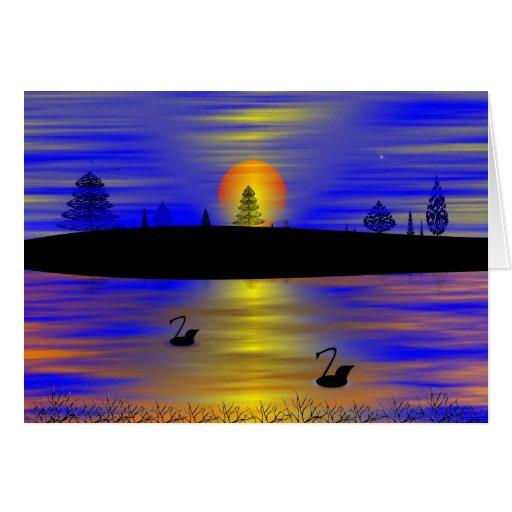 SUNRISE-SUNSET CARD