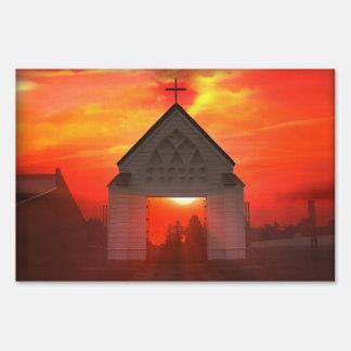 Sunrise / Sunset Church Sign