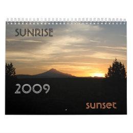 Sunrise Sunset...customizable! Calendar