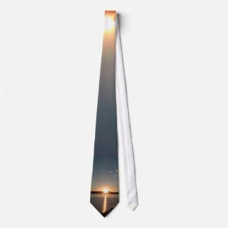 Sunrise Sunset Neck Tie