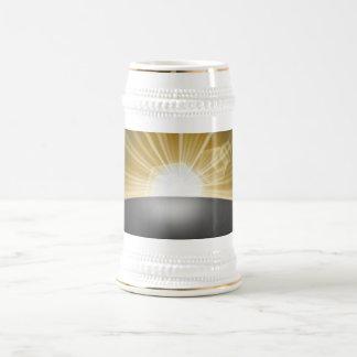 Sunrise Sunset Planet Beer Stein