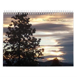 Sunrise, Sunset, Scripture 2014 Calendar