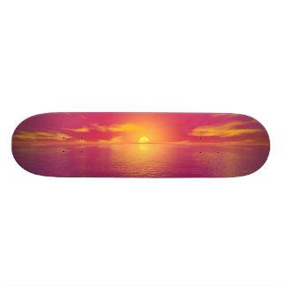 Sunrise Sunset Skateboard Deck