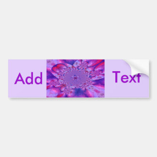 Sunrise Sunset Sky Blue Bow White Lace Pearls Bumper Stickers