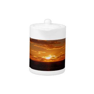 Sunrise Sunset Teapot