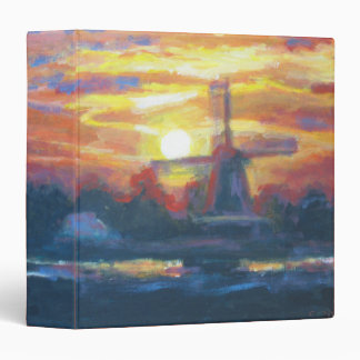 Sunrise/ Sunset Windmill Binder