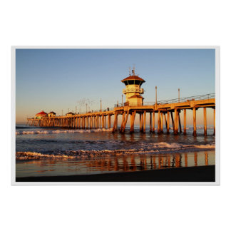 Sunrise Surf City Posters