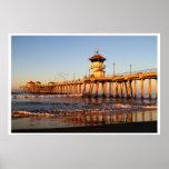 Sunrise Surf City Posters