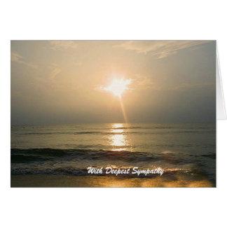Sunrise Sympathy Card