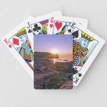 Sunrise Through Split Rock Bicycle Card Decks