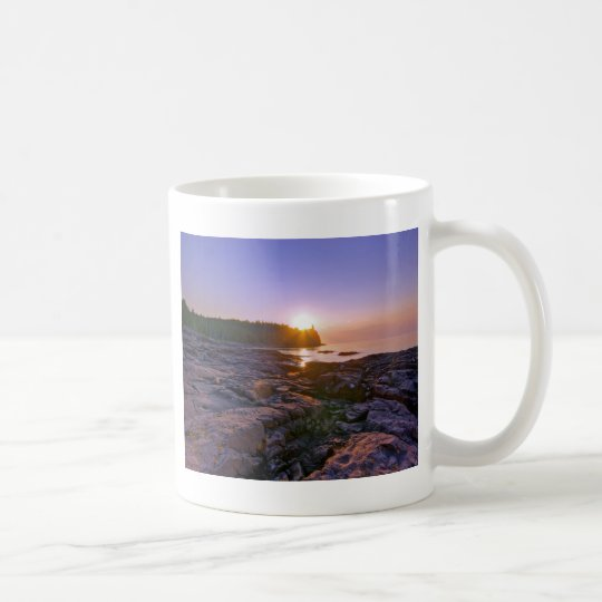 Sunrise Through Split Rock Coffee Mug