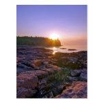 Sunrise Through Split Rock Postcards