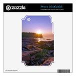 Sunrise Through Split Rock Skins For iPhone 3G