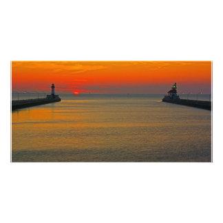Sunrise through the Canal Photo Cards