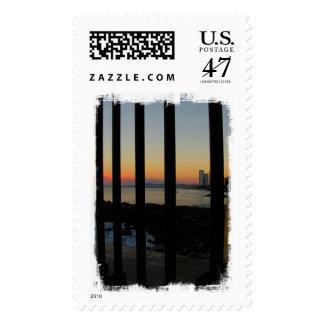 Sunrise Through the Gate; No Text Postage
