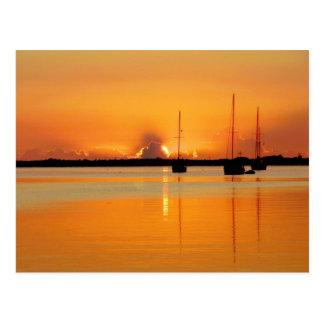 Sunrise, Titusville (Cape Canaveral) Florida Postcard
