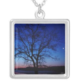 Sunrise Tree Necklace