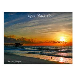 Sunrise - Tybee Island Postcard