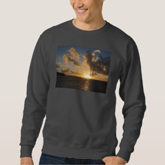 Sunrise With Clouds St. Martin Pullover Sweatshirt