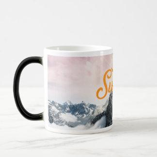 Sunrise with Jesus Morphing Mug