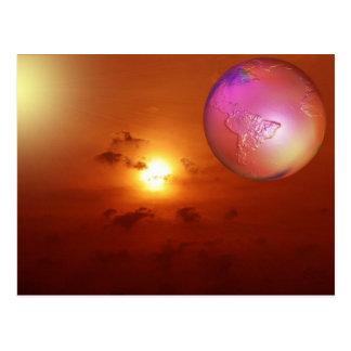 sunrise with psp postcard