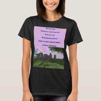 Sunrise Worship Poetry Women's Basic T-Shirt