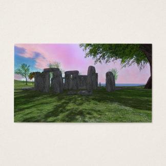 Sunrise Worship Stonehenge Business Cards 100 pack