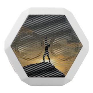 Sunrise Yoga White Bluetooth Speaker